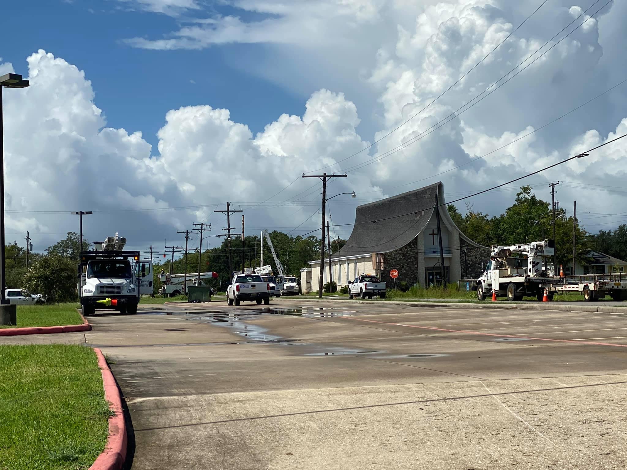 Entergy Crews working to get power restored