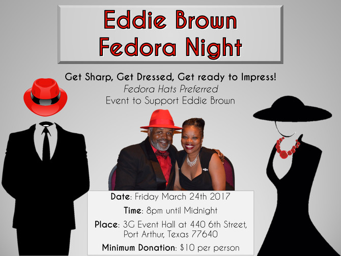 Coming up: Eddie Brown Fedora Night!