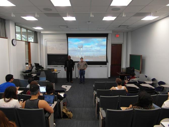 Speaking at Rice University