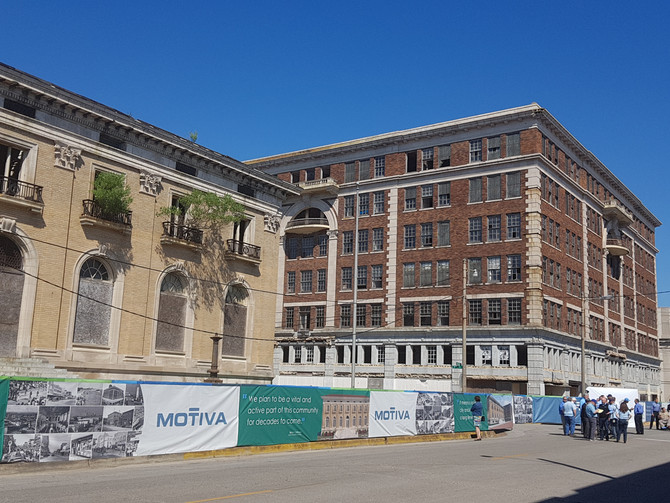 Motiva is investing in downtown Port Arthur!