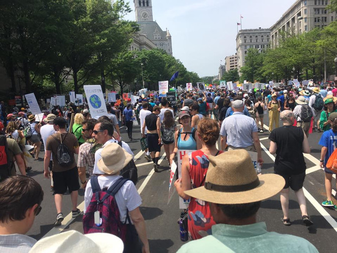 People's Climate March, Washington DC