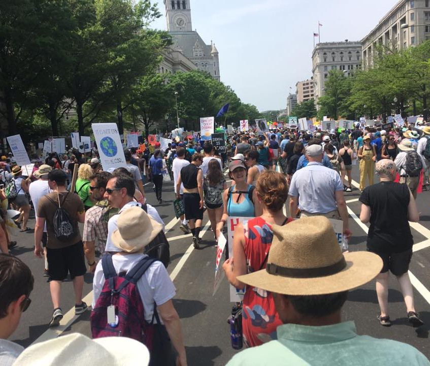 People's Climate Marchers