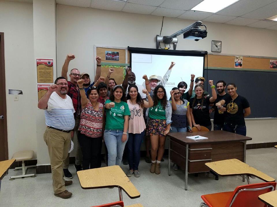 CIDA, DISUR and CSI educating local students on environmental justice