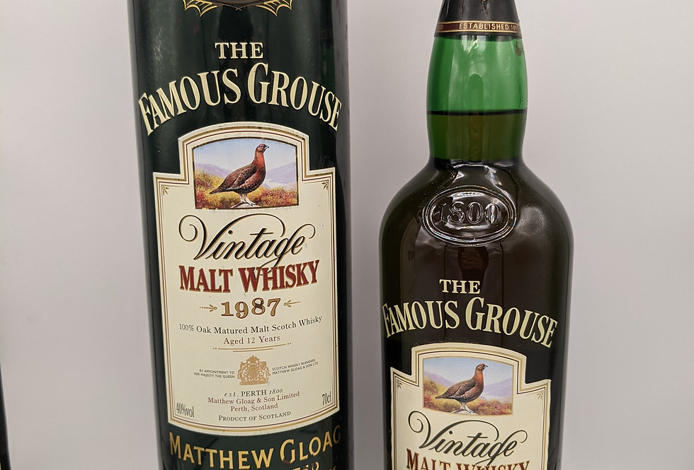 1987 Famous Grouse Malt 12 year old