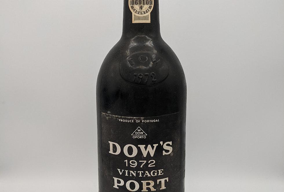 Dow's 1972 Vintage Port