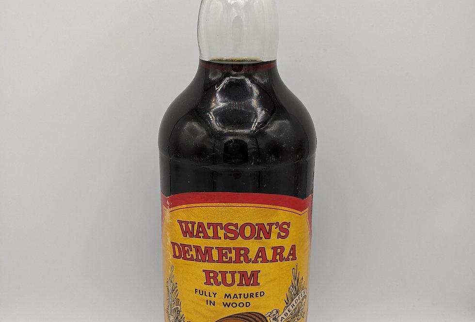 Robert Watson's Demerara Rum 75cl 1970's Guyana