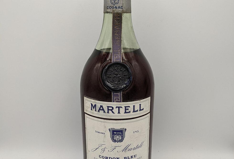 1970's Martell Cordon Bleu Cognac (1970's bottling)