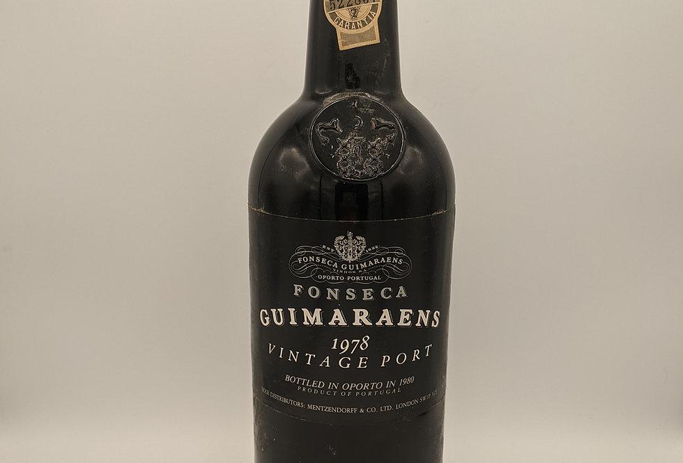 Fonseca Guimaraens Vintage Port 1978