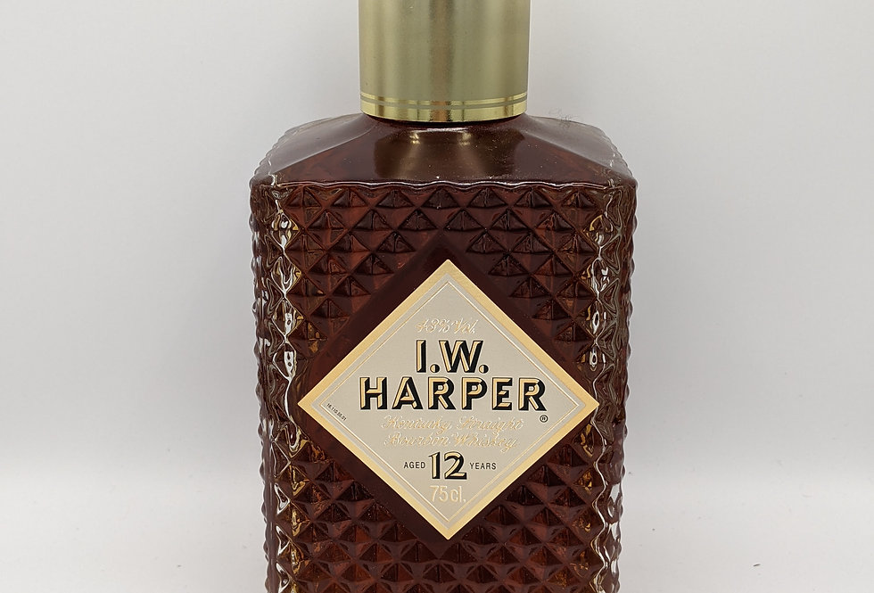 I.W. Harper 12 year Old Straight Bourbon Decanter 43% 75CL