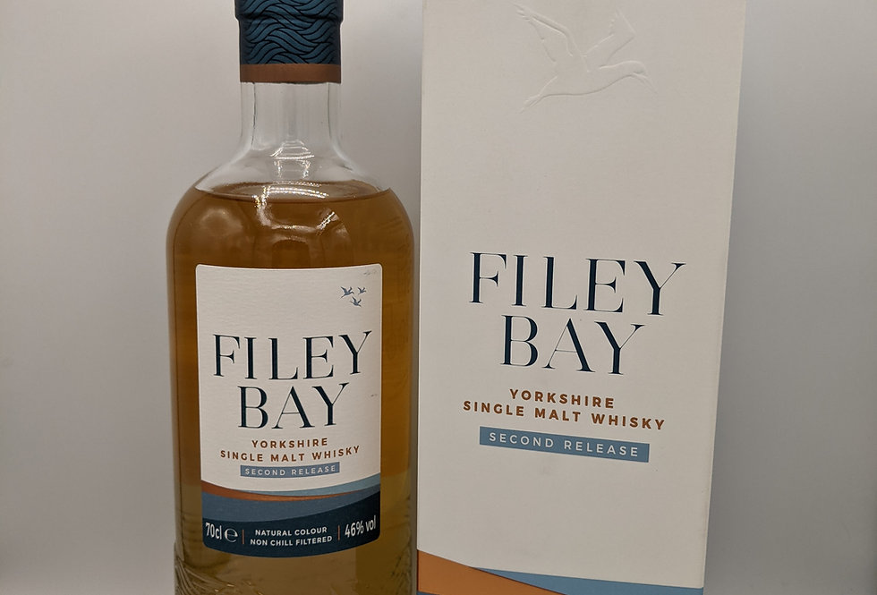 Filey Bay Yorkshire Malt Whisky Second Release