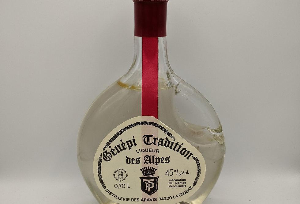 Genepi Tradition Liqueur Des Alpes 45% 70cl 1980'a