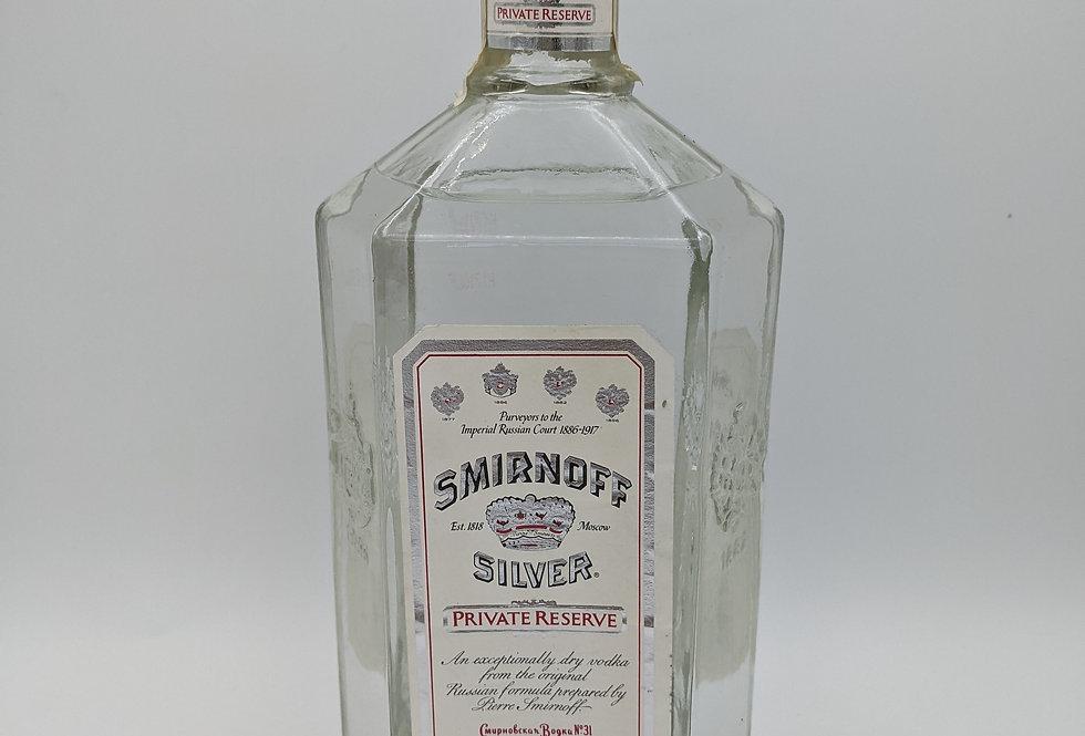 Smirnoff Silver Private Reserve Litre 45.2%
