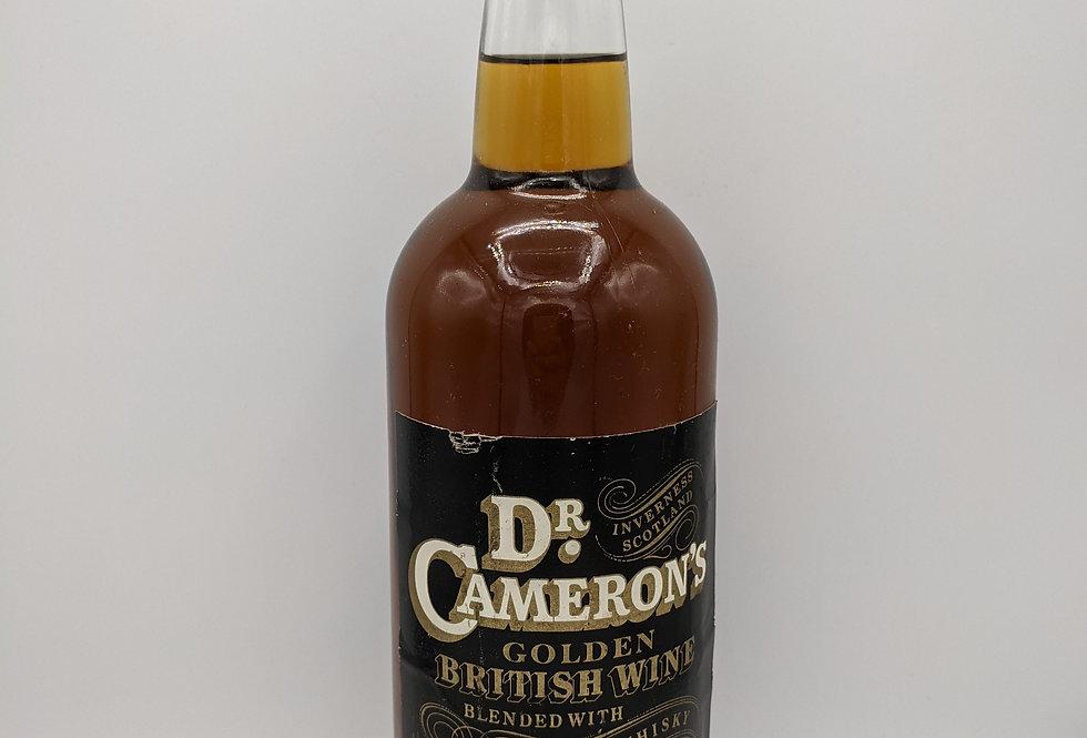 Dr Cameron's Goldern British Wine & Mature Malt Whisky 1970's