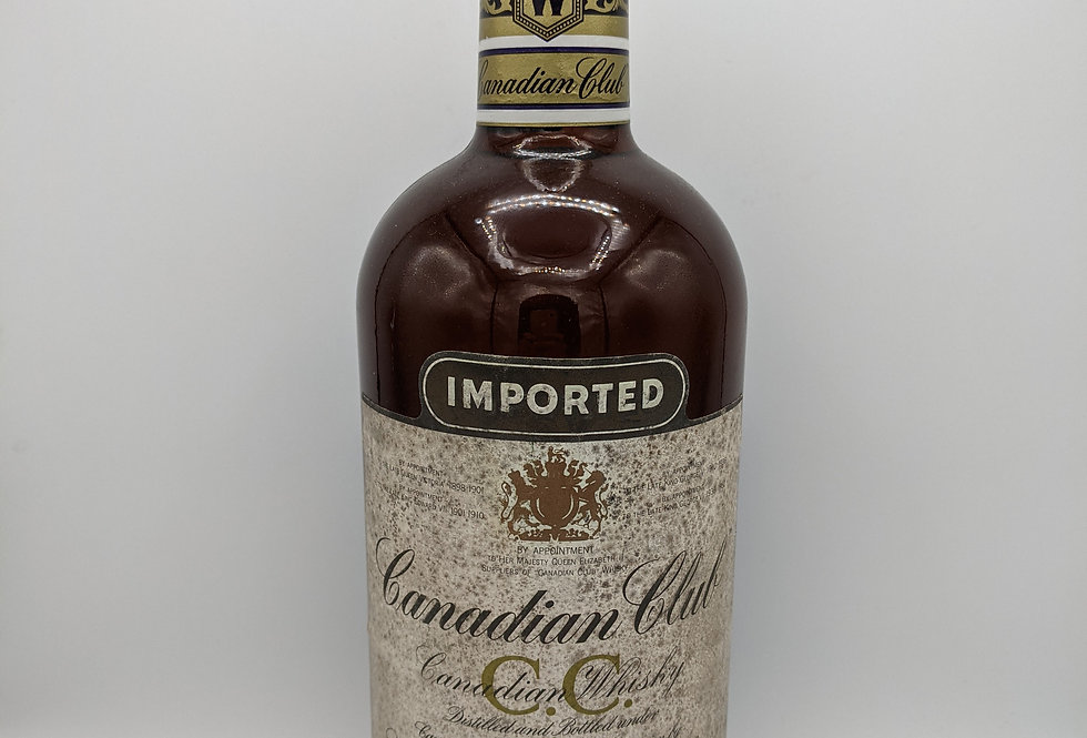 Canadian Club Whisky Distilled 1971 Litre