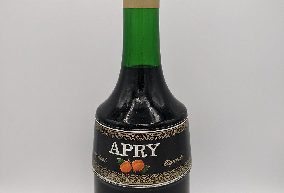 Marie Brizard Apry Apricot Liqueur - 1980s 24 FL OZ 52 Proof