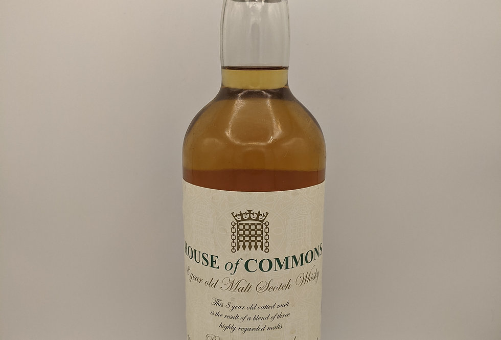 House Of Commons 8 Year Old Malt Whisky James Martin