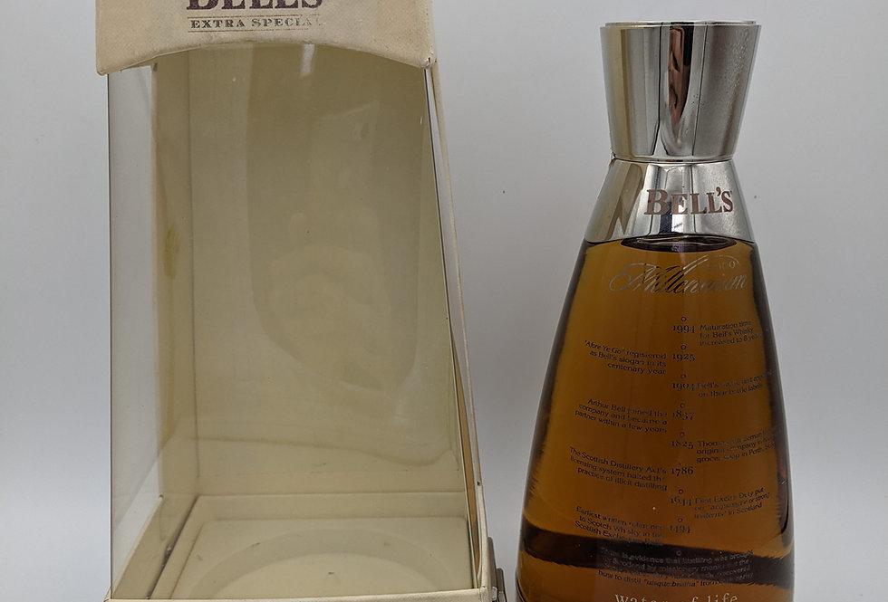 Bell's Millennium Decanter Eight Old Blend Scotch Whisky 2000