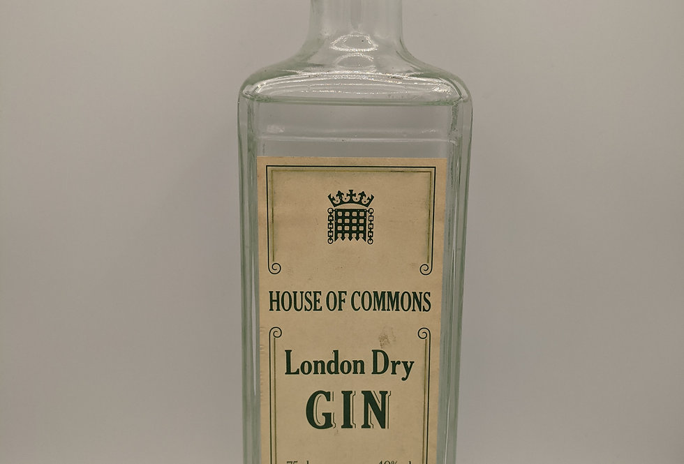 Nicholson House Of Commons London Dry Gin 1970's