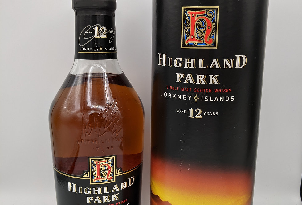 Highland Park 12yo / Bot.1990s  Malt Whisky