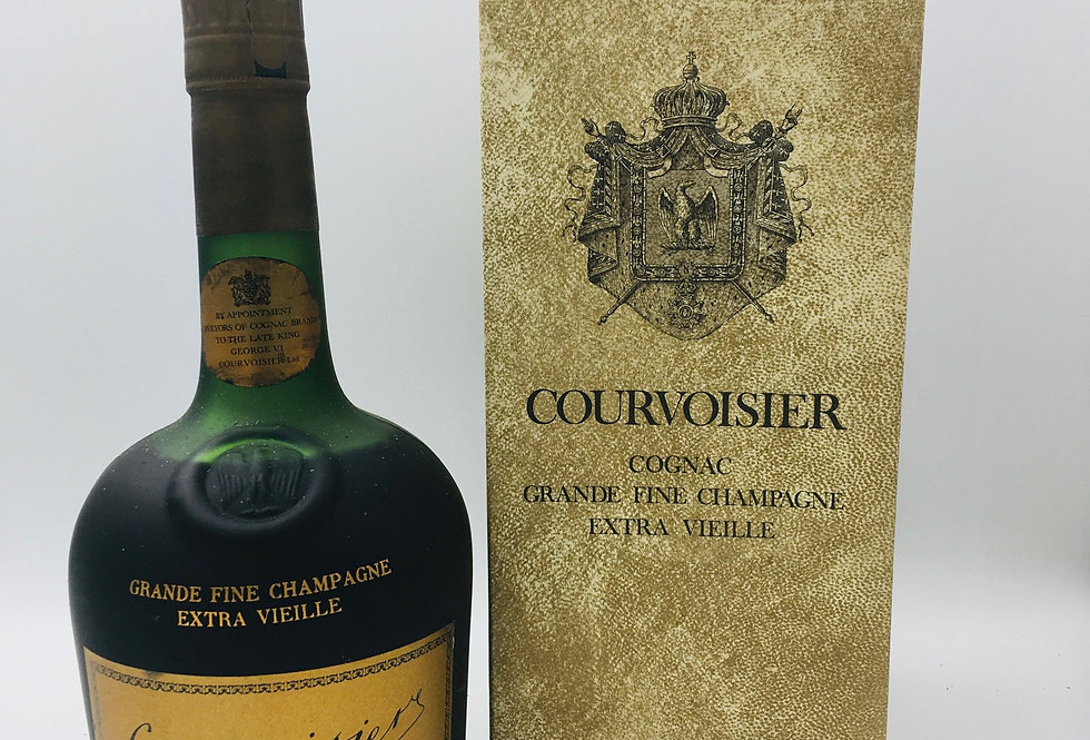 Courvoisier Extra Vielle Cognac 1960's