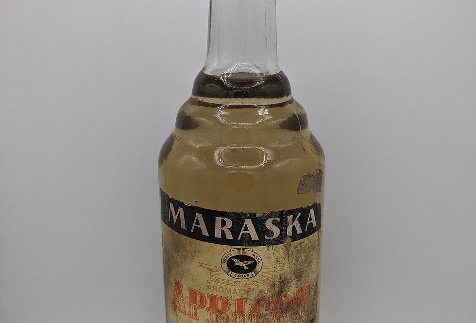 Maraska Apricot Litre 1980's