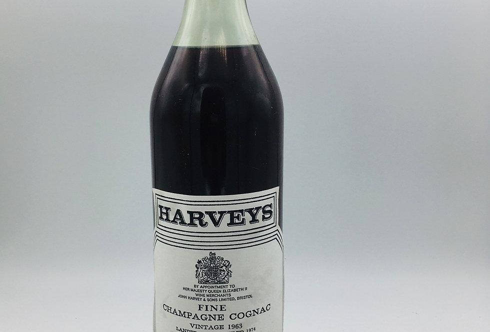 Harveys 1963 Cognac Fine Champagne
