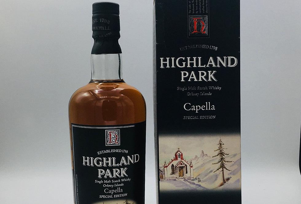 Highland Park Capella Special Edition Malt Whisky