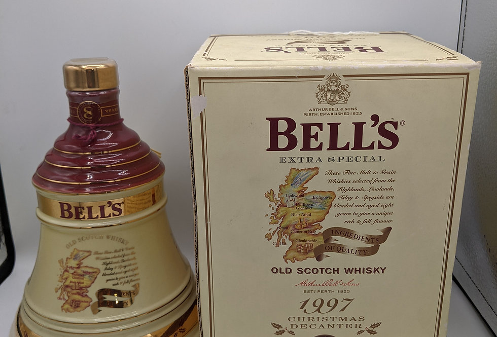 1997 Bell's Christmas Decanter Blended Scotch Whisky