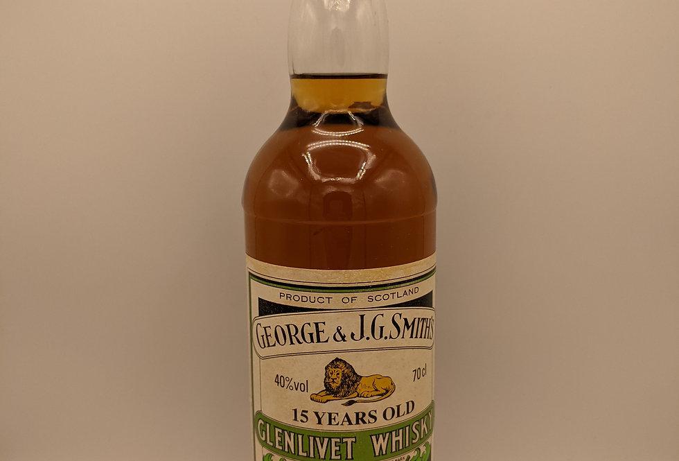 George & J.G.Smith's' Glenlivet 15 Year Old Single Malt