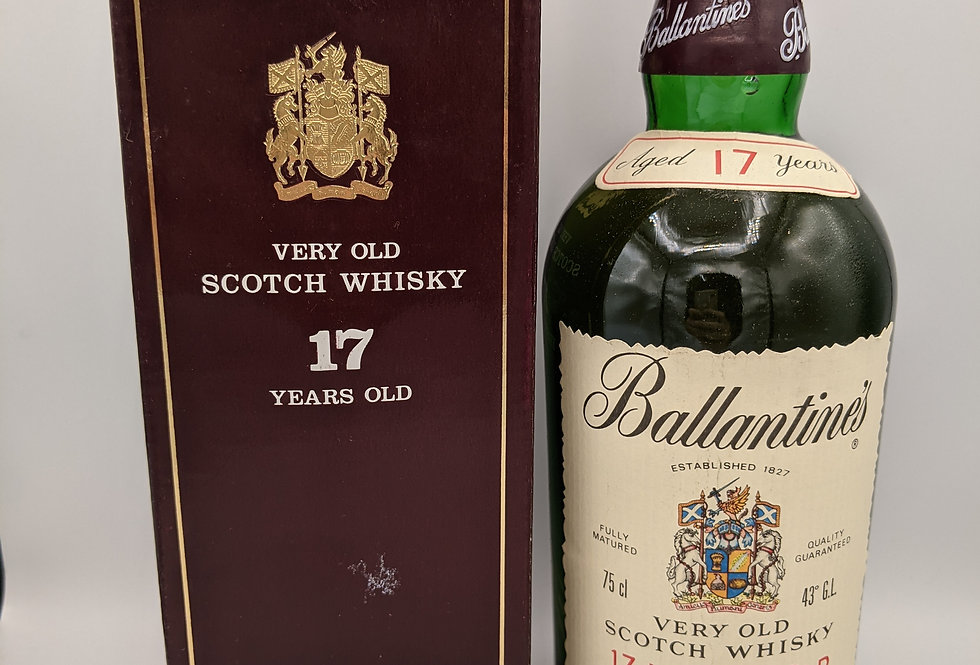 Ballantine's 17 Year Old 1980's Bottling