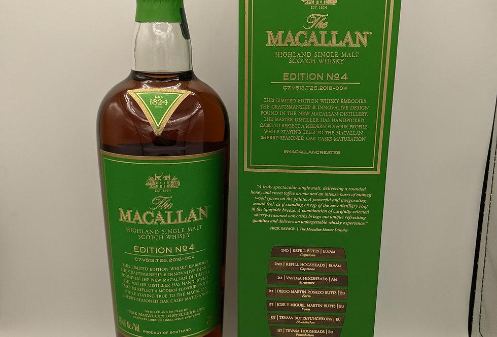 THE MACALLAN Edition 4 48.4% abv 70cl