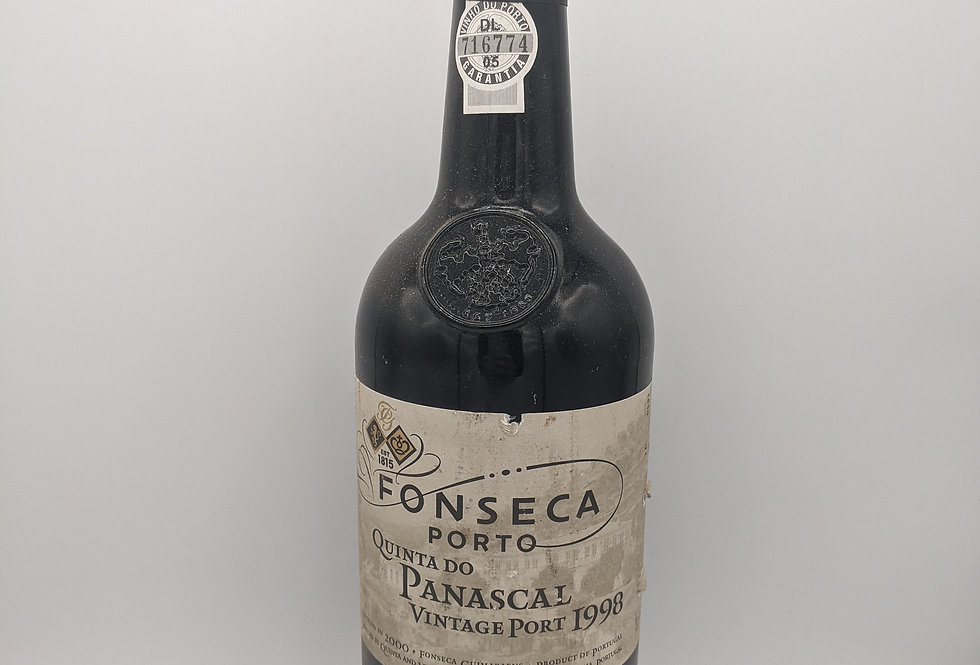 Fonseca Quinta do Panascal Single Quinta Vintage Port 1998