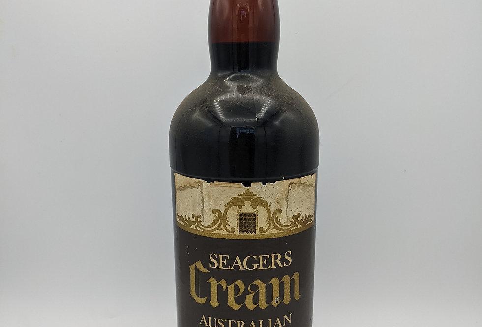 Seagers Cream Australian Sherry MAGNUM 1970's's