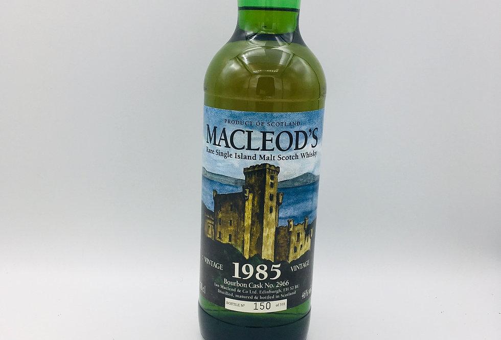 Macleod's 1985 Single Island Malt Whisky 19Years Old