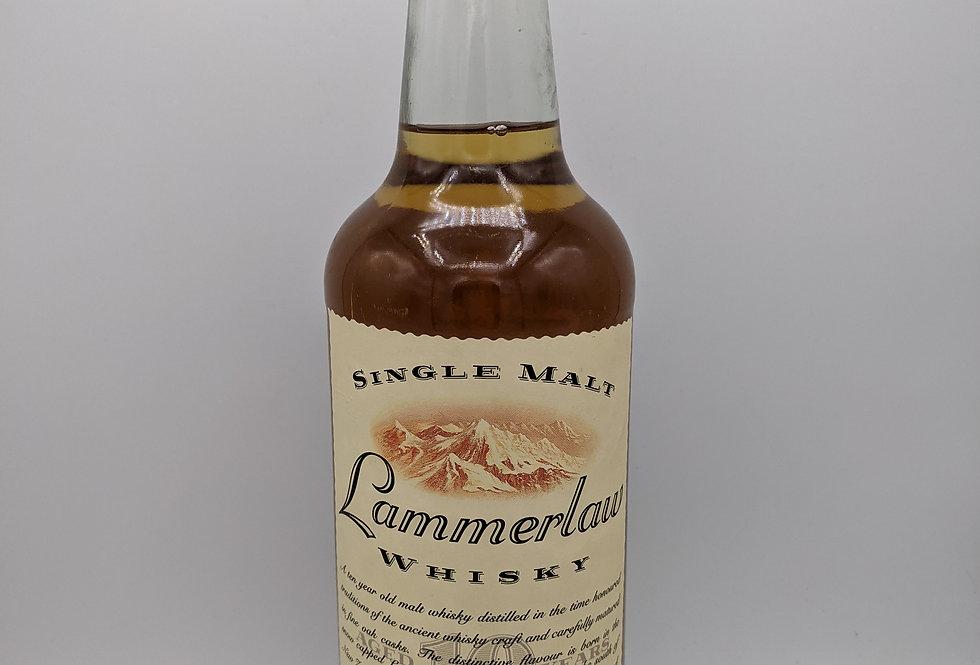 Lammerlaw 10 year old New Zealand Single Malt Whisky 43%