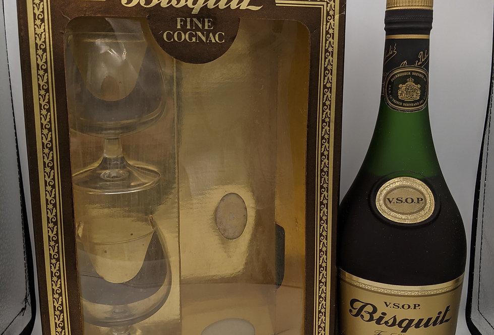 Bisquit Dubouche 'Bisquit' V.S.O.P. Cognac 1980's