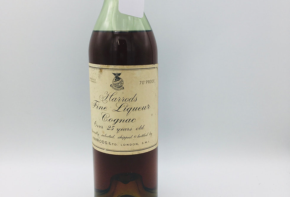 Harrods Over 25 Years Old Cognac Fine Liqueur