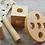 Thumbnail: Kit Bebes Montessori Madera Motricidad Estimulacion Cognitiva