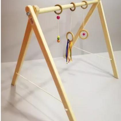 Gimnasio Montessori De Madera Bebés Waldorf Estimulación