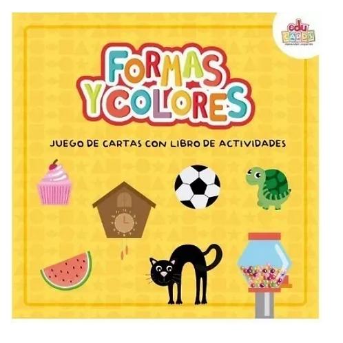Juego De Cartas + Actividades Formas Y Colores Pictogramas