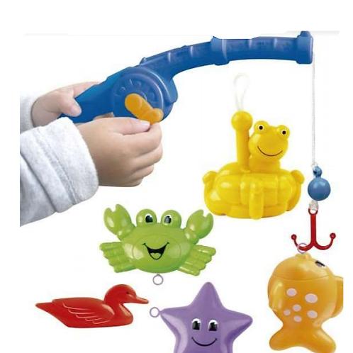 Juego Set Pesca Niños Con Caña+accesorios Motricidad