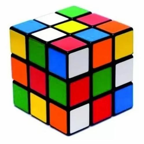 Cubo Mágico Tradicional Juego Didáctico Concentración Fidget