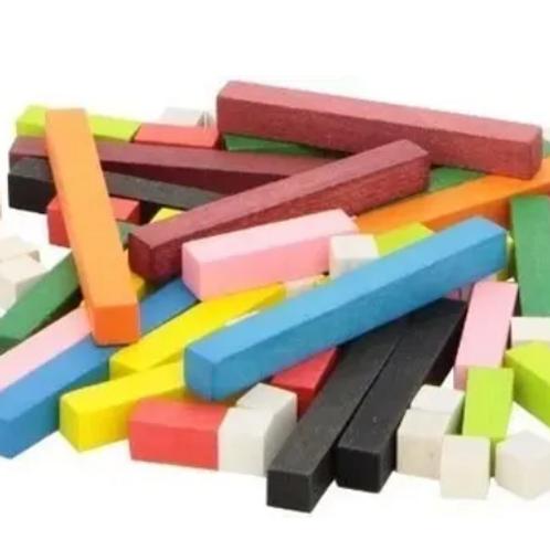 Regletas Plasticas Matemática Estimulación 29-70 o 121 Pzas Cálculo