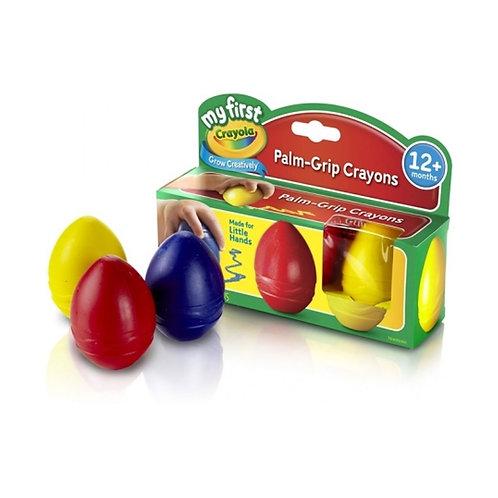 Crayones Huevo x3 u