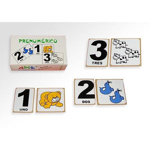 Juego De Asociación Pre-numérico Matemáticas Madera