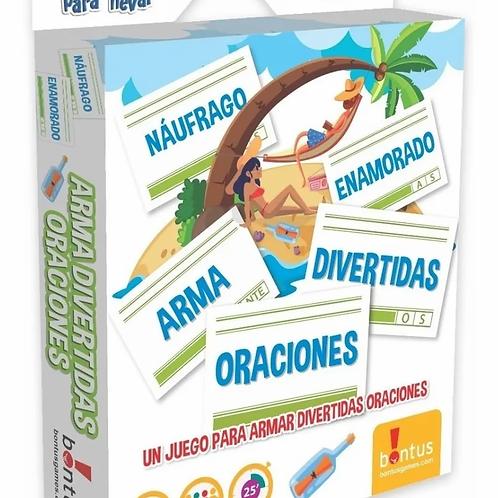 Arma Oraciones Juego De Mesa Original Didáctico Lectoescritura