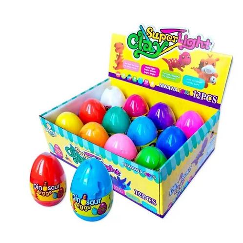 Slime En Huevos 40 Grs. Act. Sensorial Estimulación