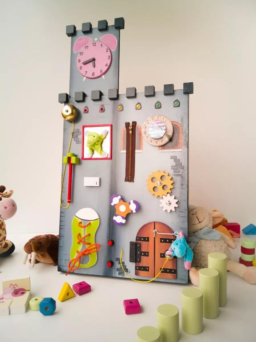 Panel Sensorial Montessori Didáctico Yo Si Puedo