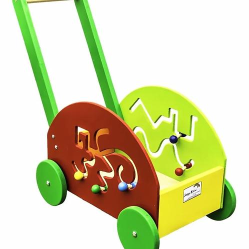Carro Carrito Andador Motricidad Ideal Para Aprender A Caminar