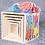 Thumbnail: Pirámide Cubos Apilables+encastres Madera Didáctico Motricid